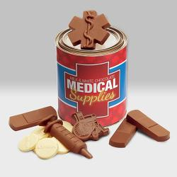 Medical Supplies Quart of Chocolate