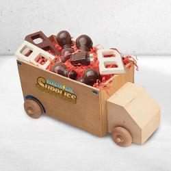 Electrical Supply Truck of Chocolate