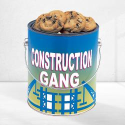 Construction Gang Cookie Tin