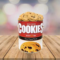 Original Apple Cookie Chocolate Chip Cookie Tin
