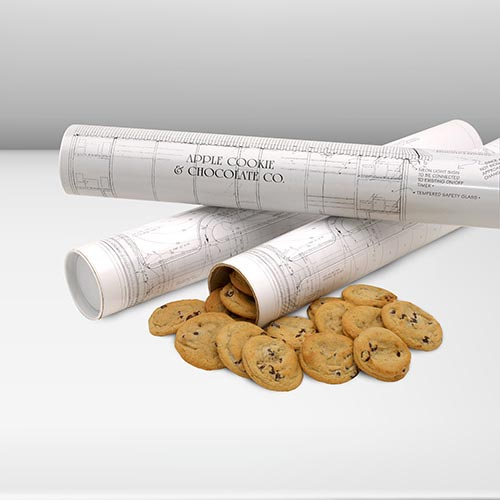 Architect designer plan of cookies for Gifts for landscape architects