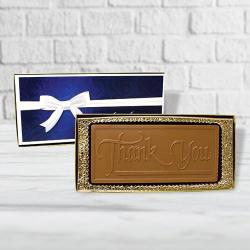 Thank you chocolate bar gift box