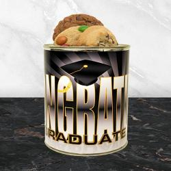 Graduation Quart Tin of Cookies