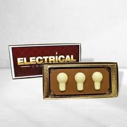 Chocolate light bulb gift box