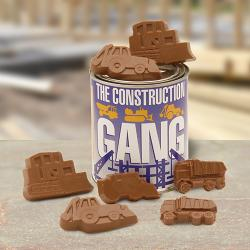 Construction Gang Quart of Chocolate