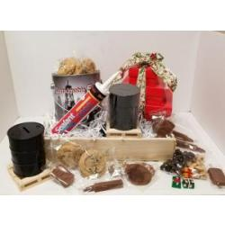 Oil and gas gift basket if cookies and chocolate