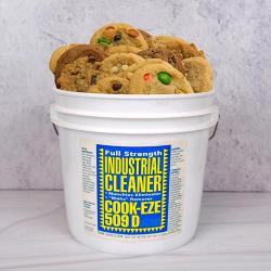 Industrial Cleaner Bucket of Cookies