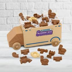 Plumbing Supply Truck of Chocolate