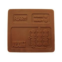 Chocolate alarm keypad
