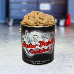 Auto Parts Cookie Tin