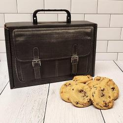 Welcome Back to Work Briefcase Cookie Gift Box