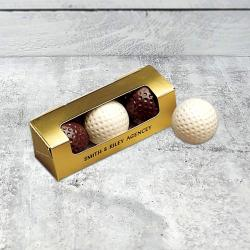 Chocolate Golf Ball Gift