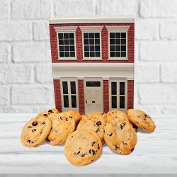 Office building gift box of cookies