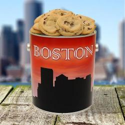 Boston Skyline Cookie Tin