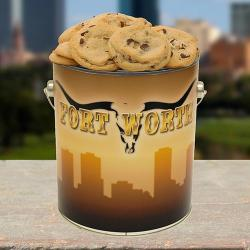 Fort Worth Cookie Tin