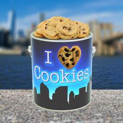 New York City Gallon Tin of Cookies