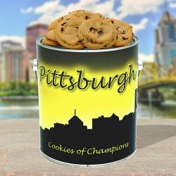 Pittsburgh City Cookies Tin