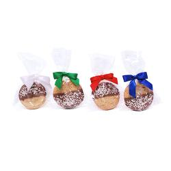 Chocolate dipped cookie gift