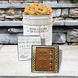 Architect Cookie tin & Chocolate door Combo