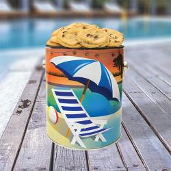 Cool Pool Gallon Tin of Cookies