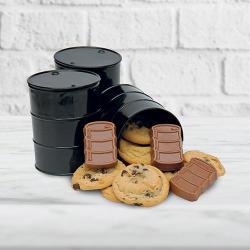Oil Drum Combo of Cookies & Chocolate