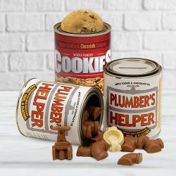 Plumber's Helper Combo with Cookies & Chocolate