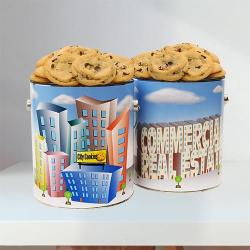 Commercial Real Estate Cookie Tin