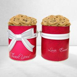 Custom Thank You Cookie Tin