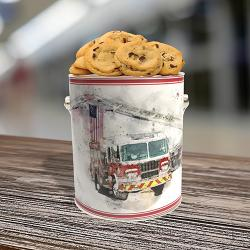 Firefighter Cookie Gift Gallon