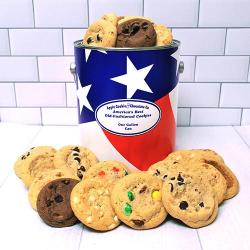 Flag Gallon of Cookies