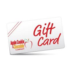 Apple cookie gift card