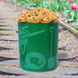Landscaping Gallon Tin of Cookies