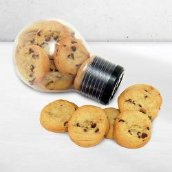 Giant Light Bulb filled with Cookies