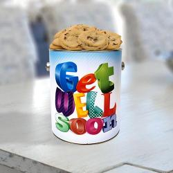 Get Well Soon Tin of Cookies