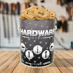 Hardware Gallon Tin of Cookies