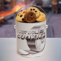 Hot Rolled Gallon Tin of Cookies