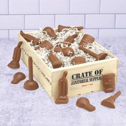 Janitor Crate of Janitorial Chocolate
