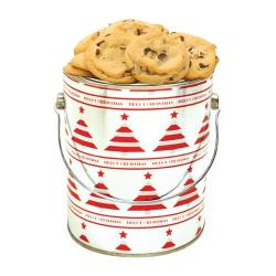 Merry Christmas Gallon Tin of Cookies