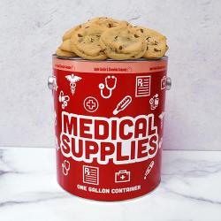 Medical Supplies Gallon Tin of Cookies