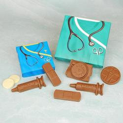 Medical Theme Box of Chocolate medical supplies