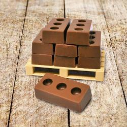 Pallet of Chocolate bricks gift
