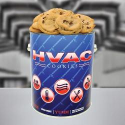 HVAC Gallon Tin of Cookies