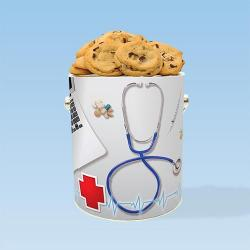 Medical Cookie Gift Tin