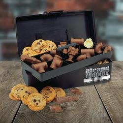 Plumber's Grand Toolbox filled with Cookies & Chocolate Plumbing Supplies