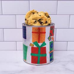 Holiday Present Cookie Gift Quart