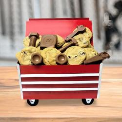 Rolling Toolbox with Cookies & Chocolate (medium)