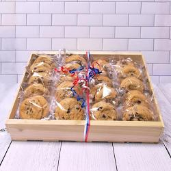 Red White and Blue Patriotic Cookie Crate