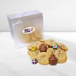 Gourmet Happy Birthday Cookie & Chocolate Gift Box