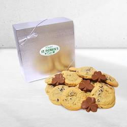 St Patrick's Cookie & Chocolate Gift Box