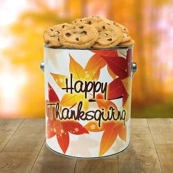 Thanksgiving Tin of Cookies